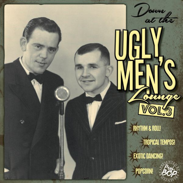 Cover V/A, down at the ugly men´s lounge vol. 03