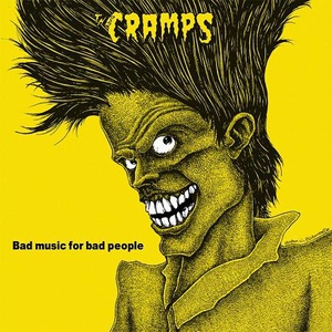 CRAMPS, bad music for bad people cover