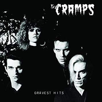 CRAMPS, gravest hits cover