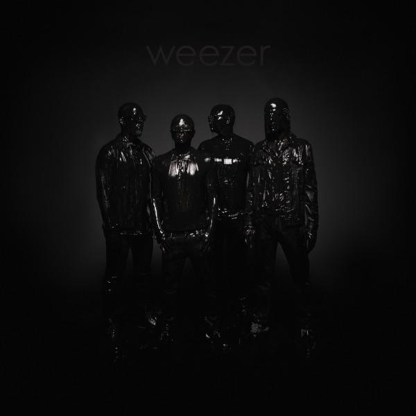 WEEZER, black album cover