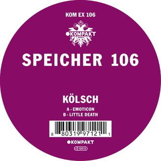 KÖLSCH, speicher 106 cover