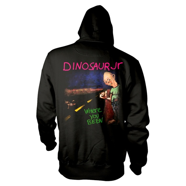 DINOSAUR JR., where you been kapu (boy) black cover