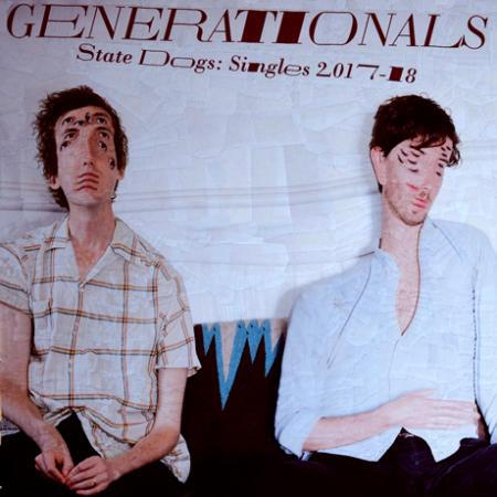 GENERATIONALS, state dogs: singles 2017-2018 cover