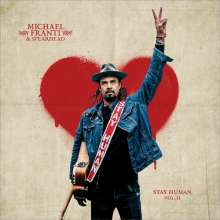 MICHAEL FRANTI & SPEARHEAD, stay human vol. 2 cover