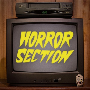 HORROR SECTION, s/t cover