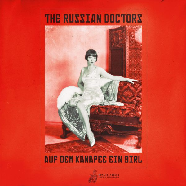 THE RUSSIAN DOCTORS, auf dem kanapee ein girl cover