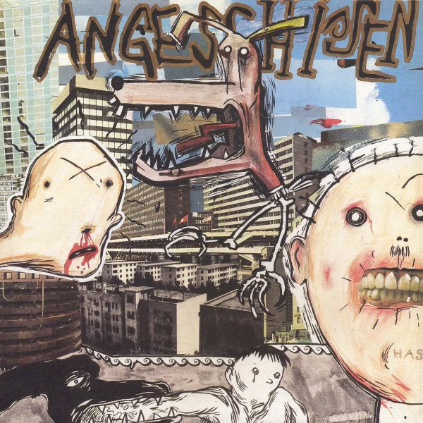 Cover ANGESCHISSEN, s/t