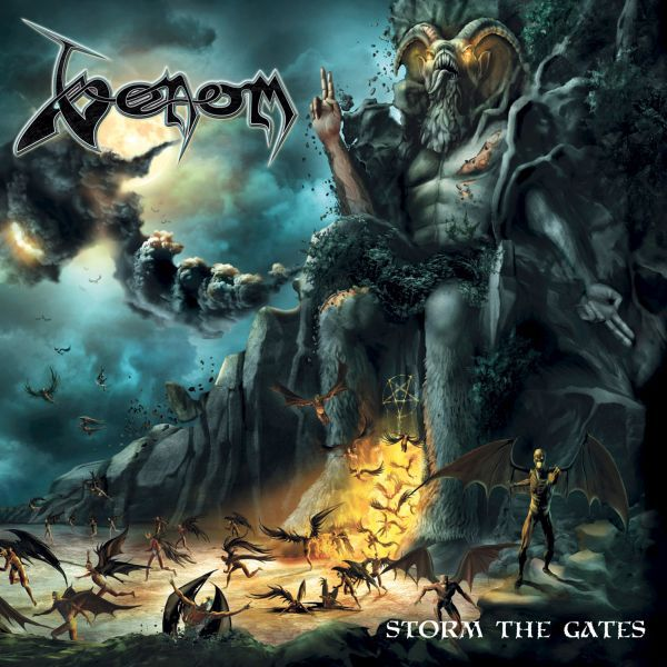 VENOM, storm the gates cover