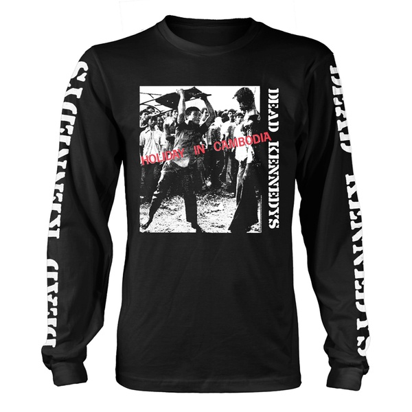 Cover DEAD KENNEDYS, holiday in cambodia LONGSLEEVE (boy) black