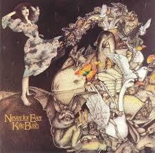 KATE BUSH, never for ever cover