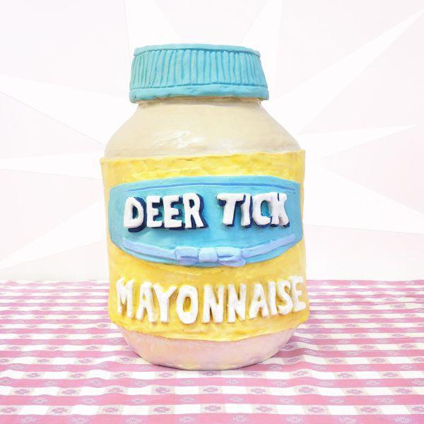 DEER TICK, mayonnaise cover