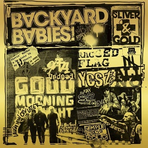 Cover BACKYARD BABIES, sliver & gold