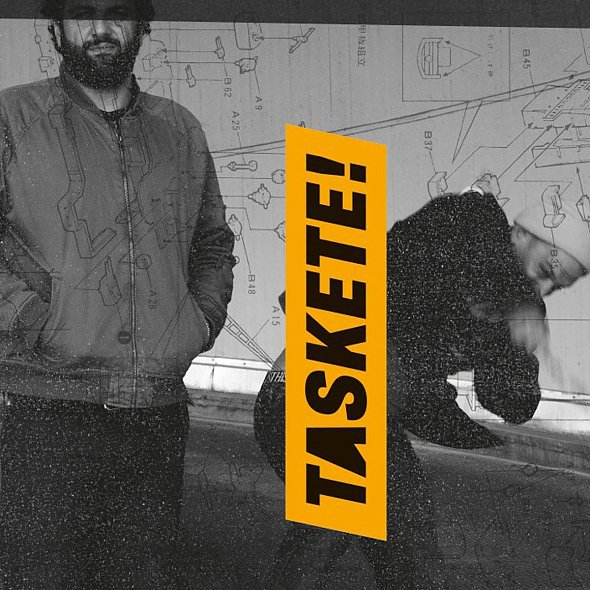 TASKETE!, s/t cover