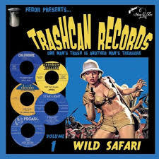 V/A, trashcan records 01: wild safari cover