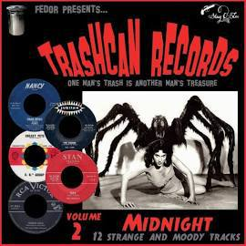 V/A, trashcan records 02: midnight cover