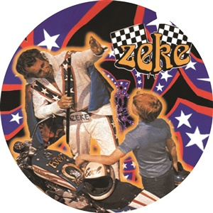 ZEKE, picture disk 1 cover