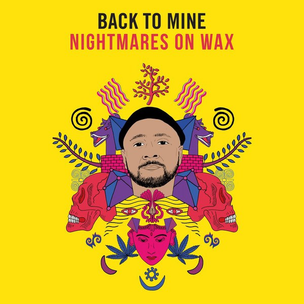 NIGHTMARES ON WAX, back to mine cover