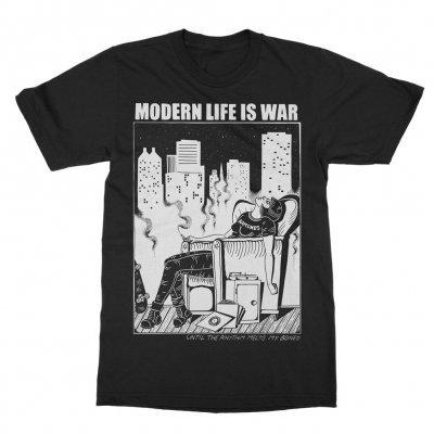 MODERN LIFE IS WAR, new dead ramones (boy) black cover