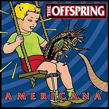 OFFSPRING, americana cover
