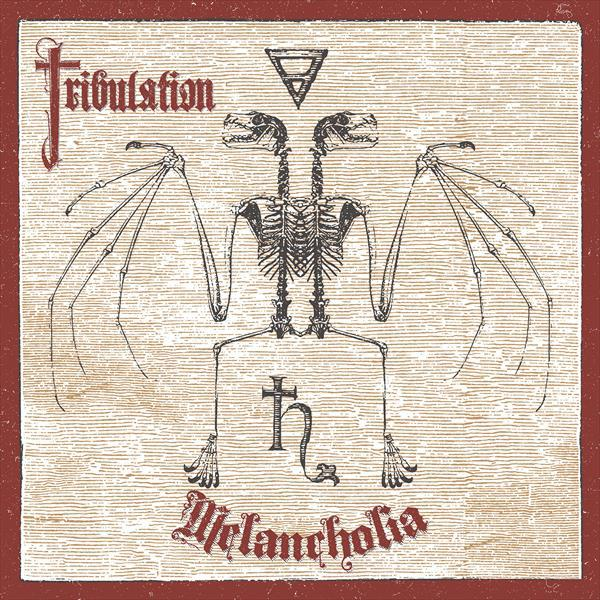 TRIBULATION, melancholia cover
