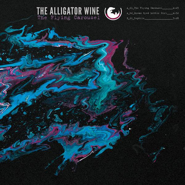 ALLIGATOR WINE, the flying carousel cover