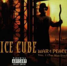 Cover ICE CUBE, war & peace vol.1