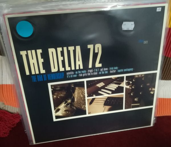 DELTA 72, r&b of membership (USED) cover
