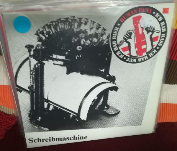 HUMAN PUNX, nietsches schreibmaschine (USED) cover