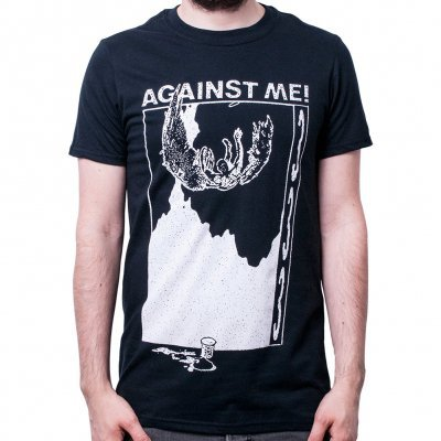 AGAINST ME, 333 (boy) black cover