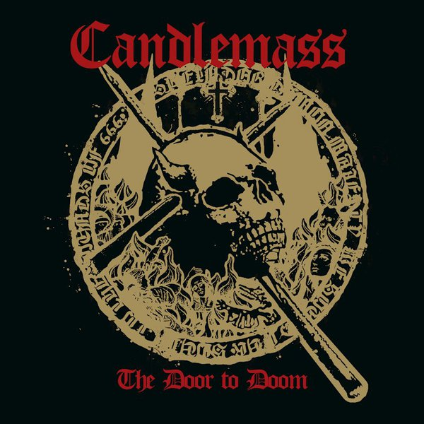 CANDLEMASS, the door to doom cover