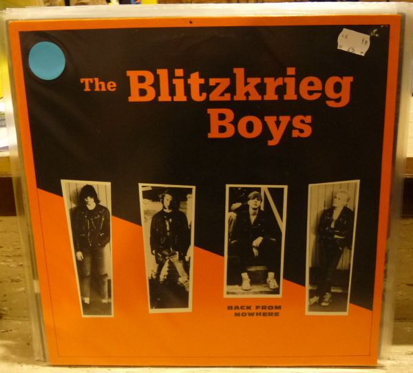 Cover BLITZKRIEG BOYS, back from nowhere (USED)