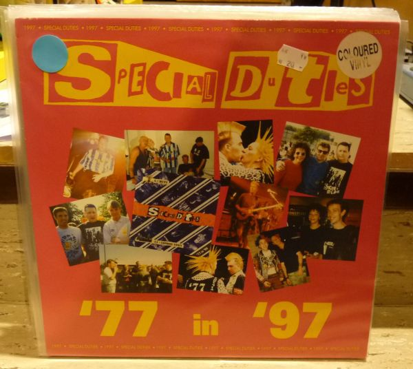 SPECIAL DUTIES, ´77 in ´97 (USED) cover