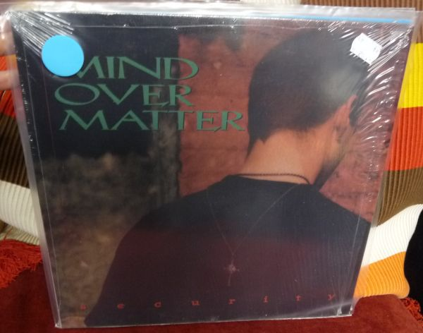 Cover MIND OVER MATTER, security (USED)