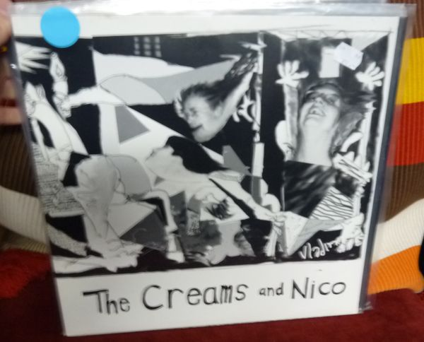 THE CREAMS, the creams and nico (USED) cover