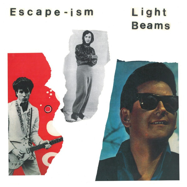 ESCAPE-ISM / LIGHT BEAMS cover