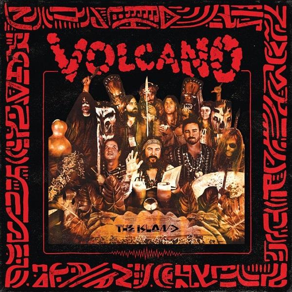 VOLCANO, the island cover