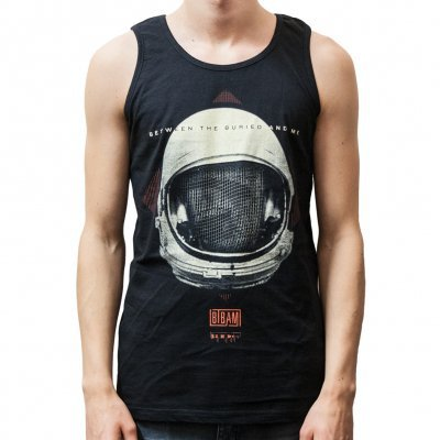 BETWEEN THE BURIED AND ME, cosmonaut (boy) black tank top cover