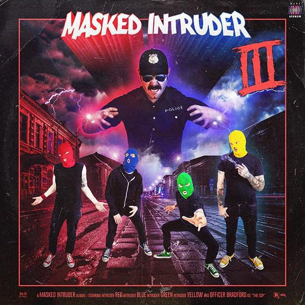 Cover MASKED INTRUDER, III