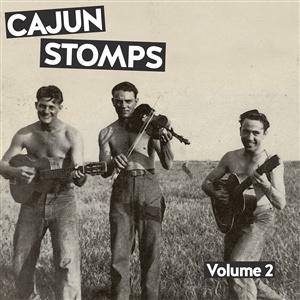 V/A, cajun stomps vol. 2 cover