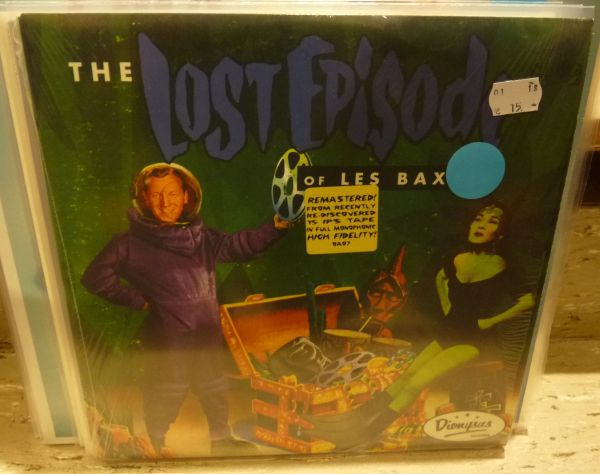 Cover LES BAXTER, lost episode (USED)