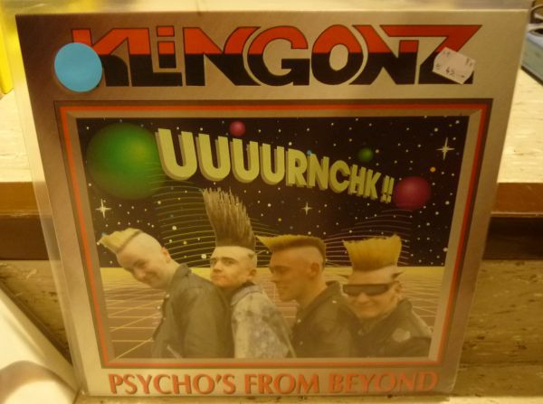 Cover KLINGONZ, psycho´s from beyond (USED)