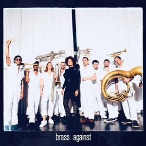 BRASS AGAINST, s/t cover