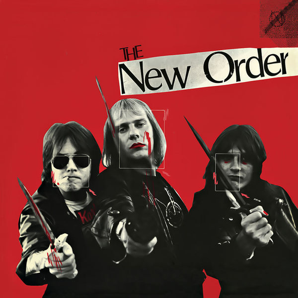 Cover THE NEW ORDER, s/t