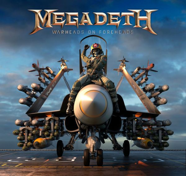 MEGADETH, warheads on foreheads cover