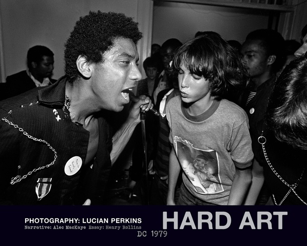 Cover LUCIAN PERKINS, hard art, d.c 1979