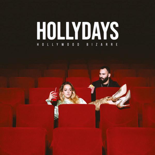 HOLLYDAYS, hollywood bizarre cover
