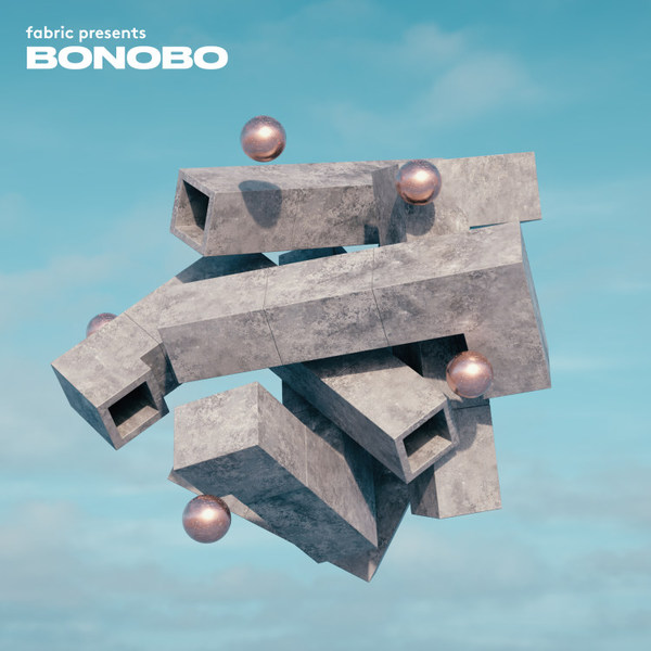 BONOBO, fabric presents cover
