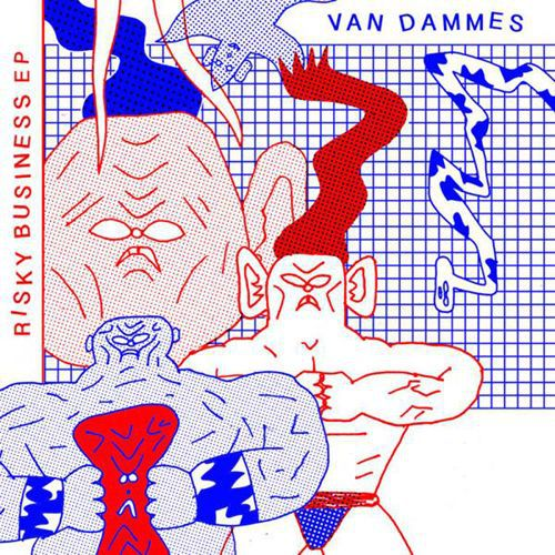 Cover VAN DAMMES, risky business