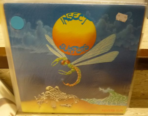 Cover INSECT SURFERS, reverb sun (USED)