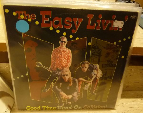 Cover EASY LIVIN´, good time head-on collision! (USED)
